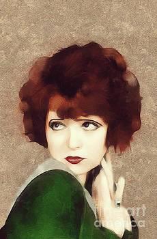 Mary Bassett - Clara Bow, Vintage Movie Star