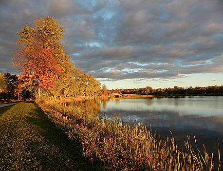 Clare-Mar Lakes Autumn by Nick Sorbin
