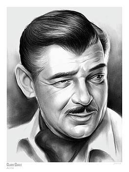 Clark Gable 26AUG17 by Greg Joens