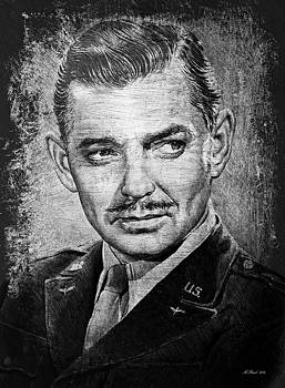 Clark Gable by Andrew Read