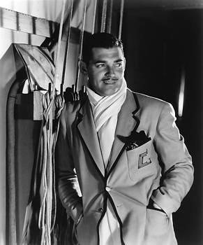 Clark Gable hollywood Movie Idol  by R Muirhead Art
