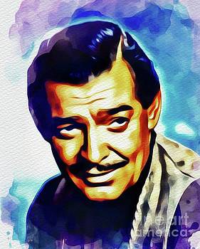 John Springfield - Clark Gable, Vintage Movie Star