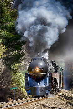 John Haldane - Class J 611 Steam Engine at Ridgecrest