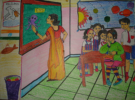Class room by Aditi Laddha