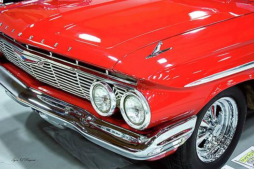 Classic 61 Impala Car by Tyra OBryant