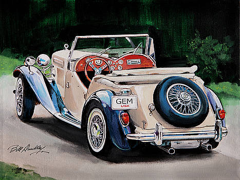 Classic British Roadster by Bill Dunkley