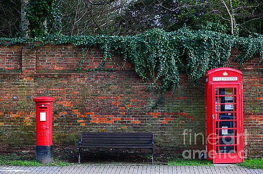 James Brunker - Classic British Pillar Box and Telephone Box
