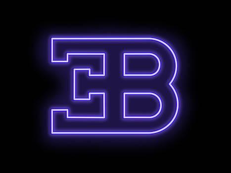 Ricky Barnard - Classic Bugatti Neon Sign