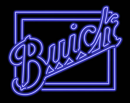 Ricky Barnard - Classic Buick Neon Sign