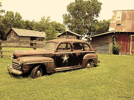 Classic Car 013 Highway Patrol by Nola Hintzel