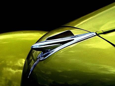 Classic Car Hood Ornament by Angela Davies