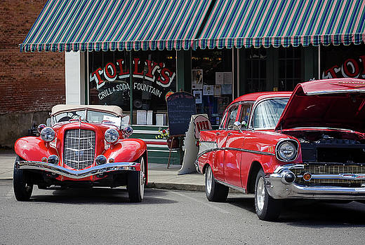 Classic Cars At Tollys 2 by Tyra OBryant