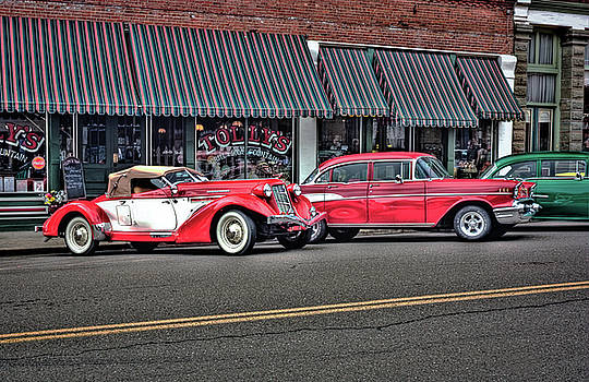 Classic Cars At Tollys by Tyra OBryant