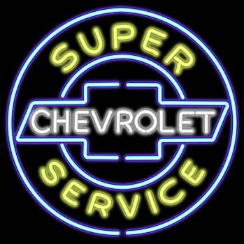 Ricky Barnard - Classic Chevrolet Neon Sign