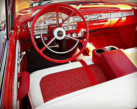 Classic Chevy Convertible by Kathy M Krause