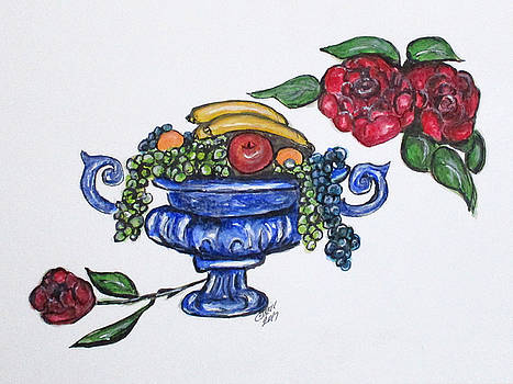 Classic Fruit Bowl by Clyde J Kell