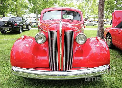 Classic  Red Buick by Dodie Ulery