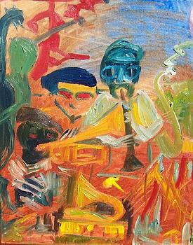 Classic Jazz Motif by James Christiansen