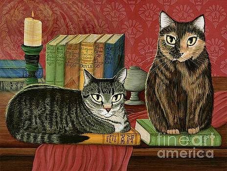 Classic Literary Cats by Carrie Hawks