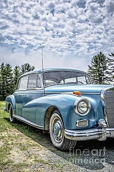 Classic Mercedes Old Four Door Sedan by Edward Fielding