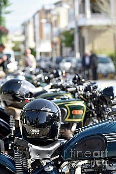 Classic motorcycles by George Atsametakis