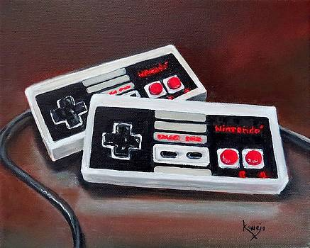 Classic Nintendo Controllers  by Wendy Winbeckler Kanojo