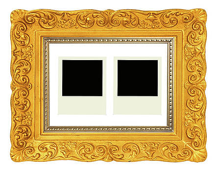 Classic Photo Frame With Blank Frame  by Prasert Chiangsakul