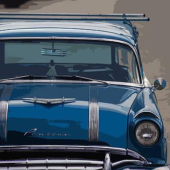 Classic Pontiac Stylized by Richard Hinds