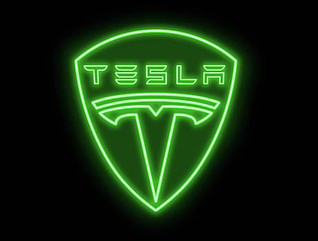 Ricky Barnard - Classic Tesla Neon Sign