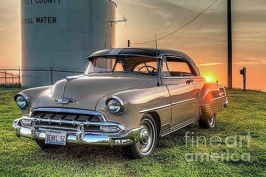 Larry Braun - Classic View with Setting Sun