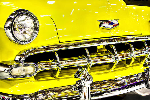 Classic Yellow Chevrolet by Tyra OBryant