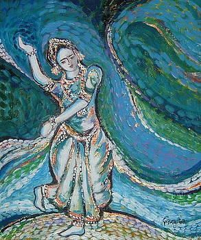 Classical Dancer by Gayatri Manchanda