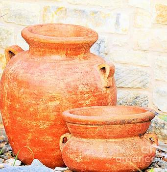 Clay Pots by Jeff Downs