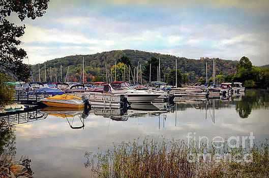 Claytor Lake Marina by Kerri Farley
