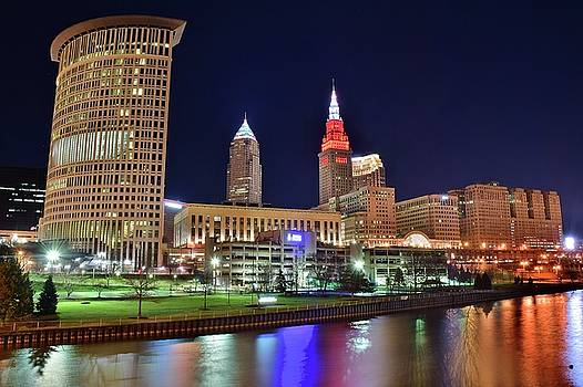 Frozen in Time Fine Art Photography - CLE Over the Cuyahoga