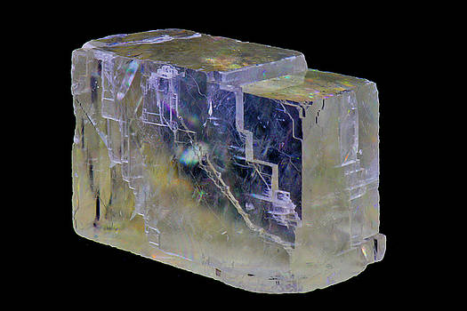 Clear Optical Calcite by Gavin Bates