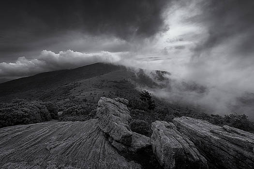 Clearing Storm-Appalachian Trail by Greg Dollyhite