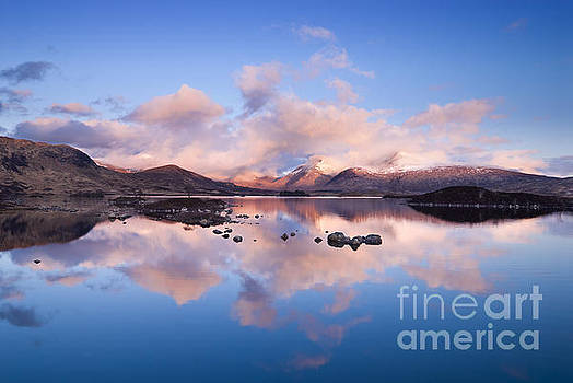 Clearing storm over Lochan na h'Achlaise and the Black Mount by Justin Foulkes