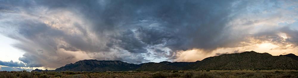Clearing Storm over Sandia Mountains by Matt Tilghman