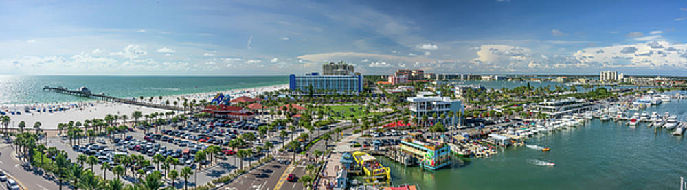 Clearwater Beach Florida by Steven Sparks