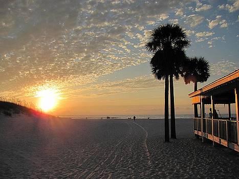 Clearwater Beach Sunset by Daniel Burnstein