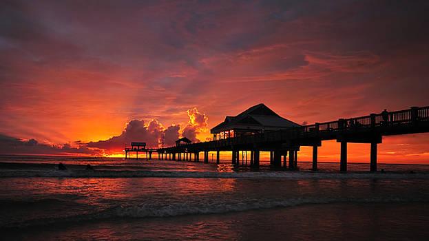 Clearwater Sunset by JD  Fielding