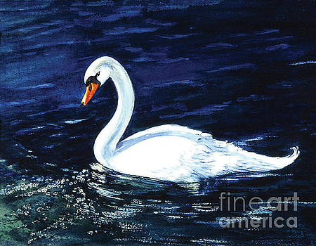 Clearwater Swan by Sher Sester