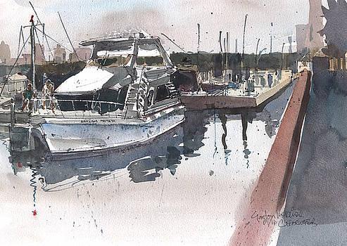 Clearwater Yacht by Gaston McKenzie