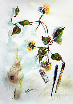 Ginette Callaway - Clematis Seed Pods Still Life and Objects