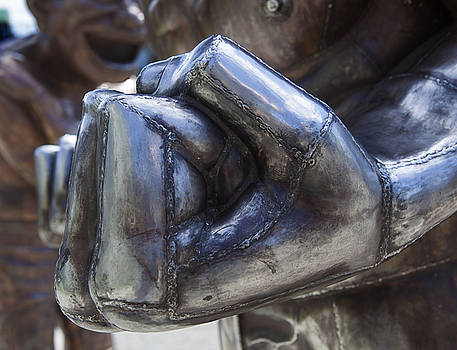 Clenched Fist by Patrick Jennings