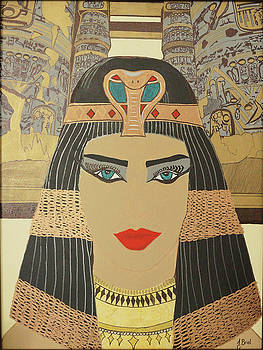 Cleopatra by Jaqueline Briel