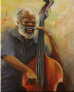Cleve Playing the Jazz by Jill Holt