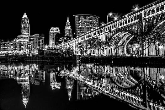 Cleveland After Dark by Brent Durken