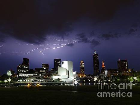 Cleveland Lightning  by Mike Bruckman